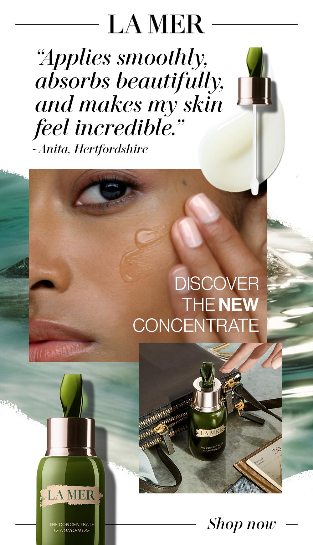 The Concentrate Skin Serum La Mer Uk In 2020 Skin Serum Makeup Skin Care Homemade Beauty Tips