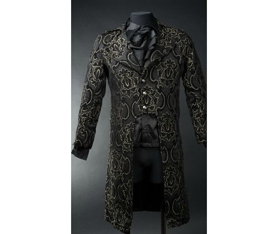 black_jacquard_tailcoat_jackets- this is f***ing gorgeous *-*