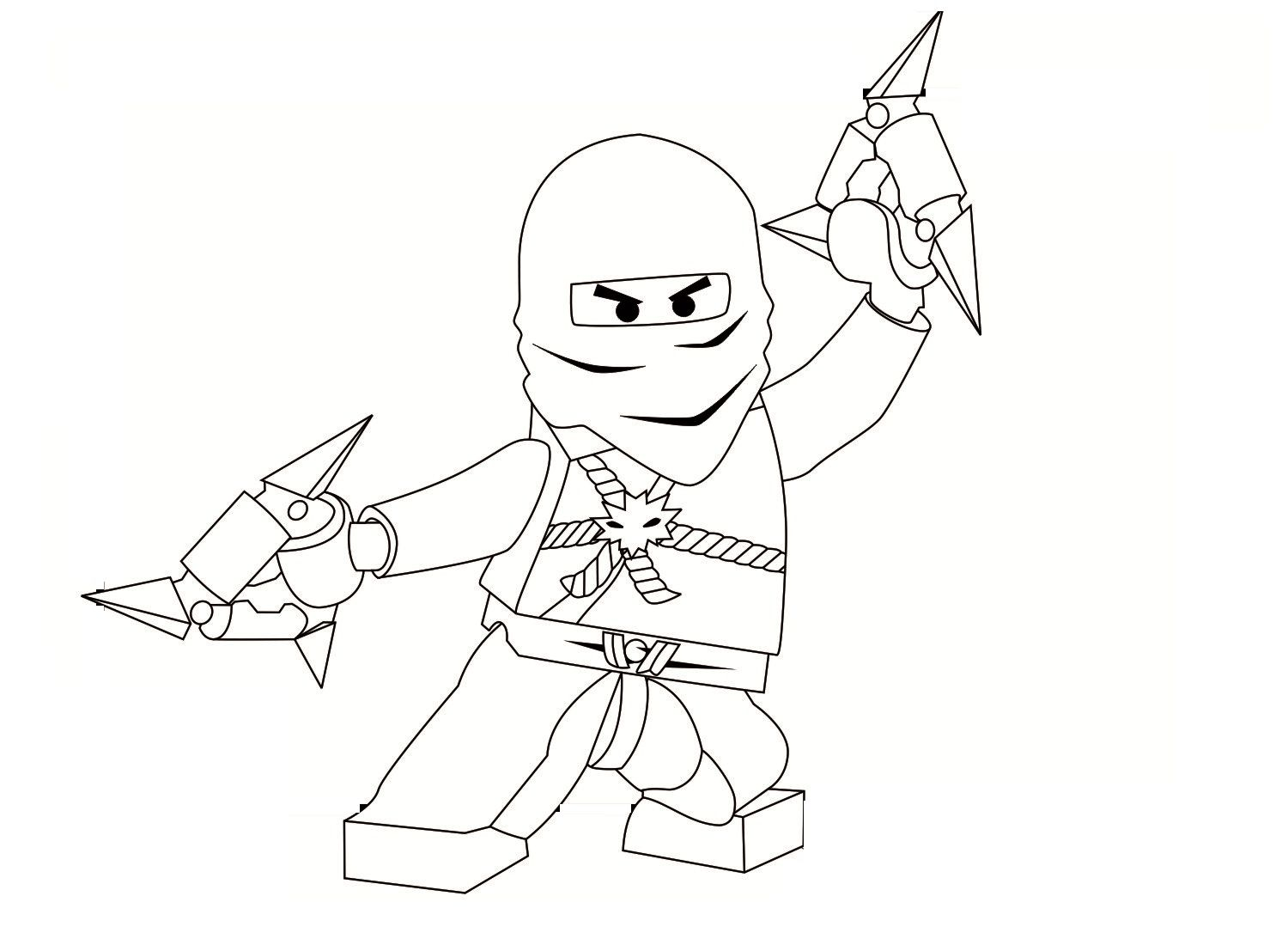 Coloring pages ninjago - Printable Ninjago Coloring Pages