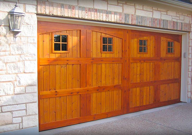 Wood Doors With Images Wooden Garage Doors Door Repair