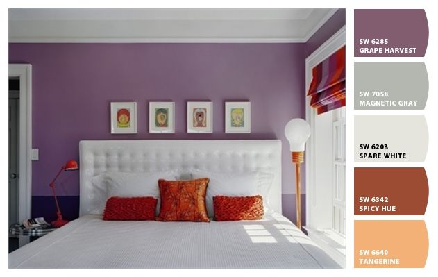Paint colors from Chip It! by Sherwin-Williams Home - Guest Room