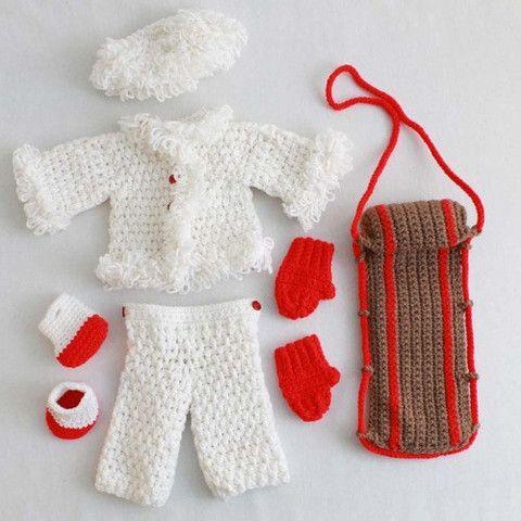 Picture of Lorraina Goes Sledding Crochet Pattern