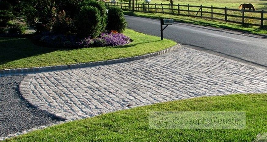 Can't afford to pave the whole driveway, just do the