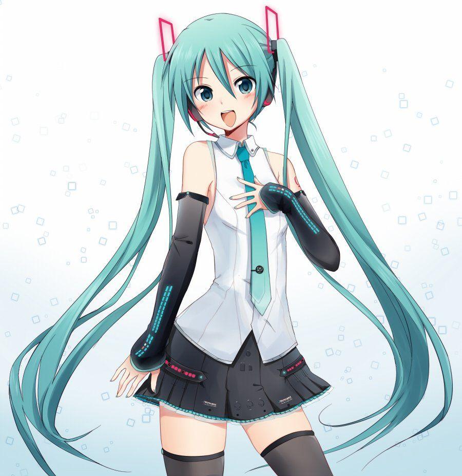 Download Anime Emergence: Hatsune Miku V4 Drawning
