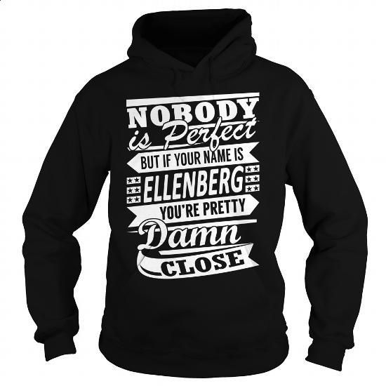 ELLENBERG Pretty - Last Name, Surname T-Shirt - #gift for friends #shirt outfit