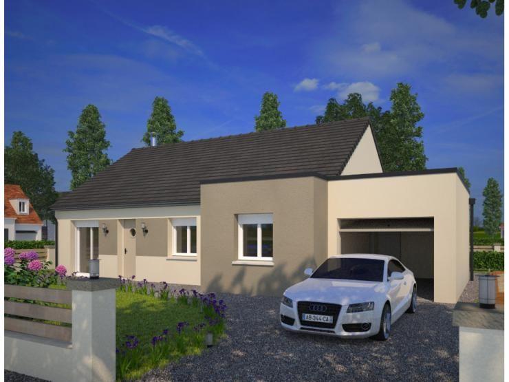 Modèle Family  maison moderne de plain-pied de 81m2 3 chambres