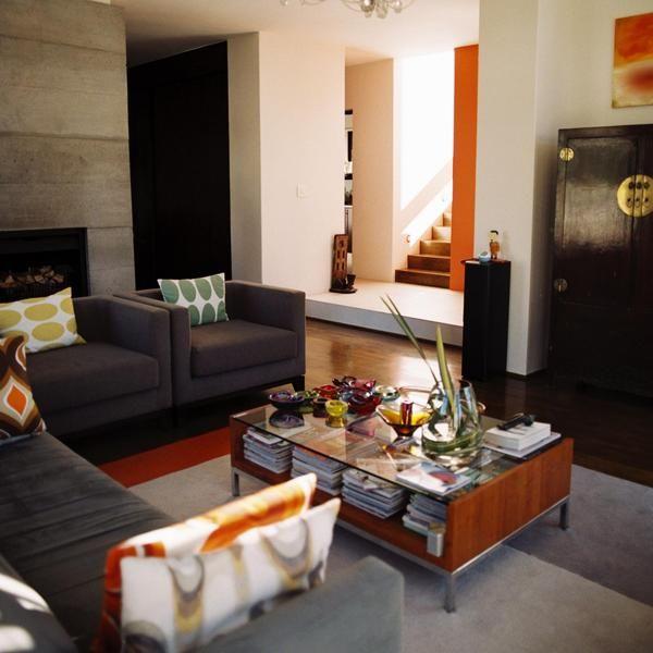 Las mejores combinaciones de colores para el hogar sala for Combinacion de colores para paredes interiores