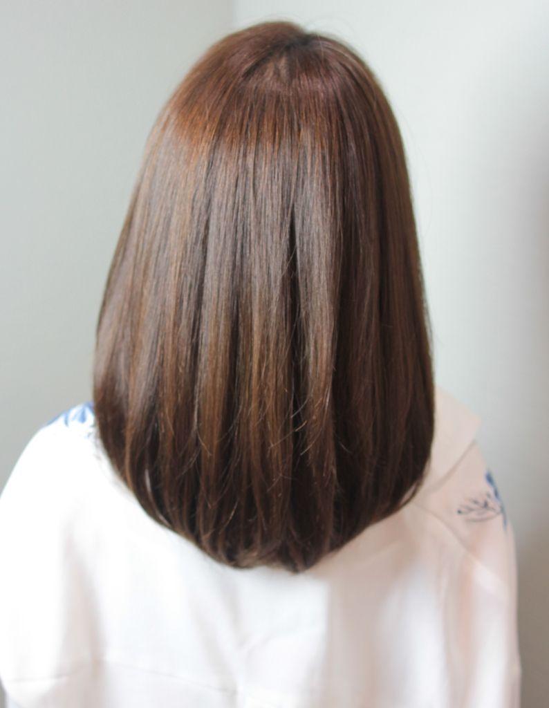 大人かわいい柔らか縮毛矯正 Sg 319 ヘアカタログ 髪型 ヘア
