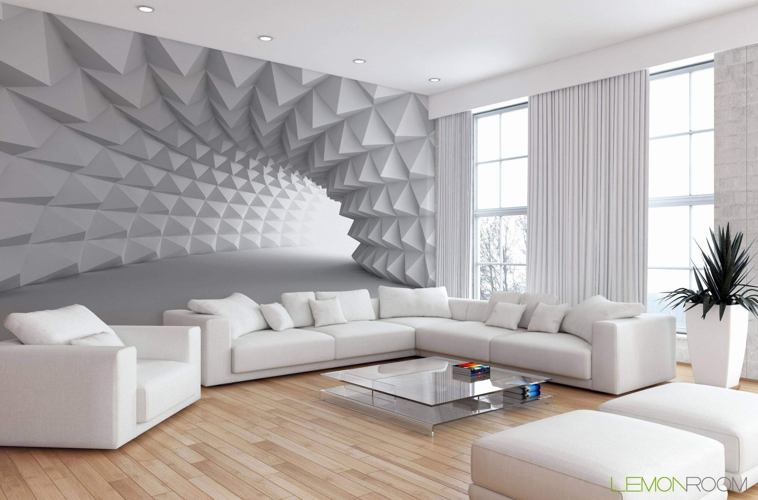 Tapeten Ideen Wohnzimmer in 9  Wohnzimmer modern, Fototapete
