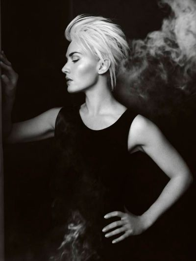Kate Winslet Short Messy Pixie Hair Style