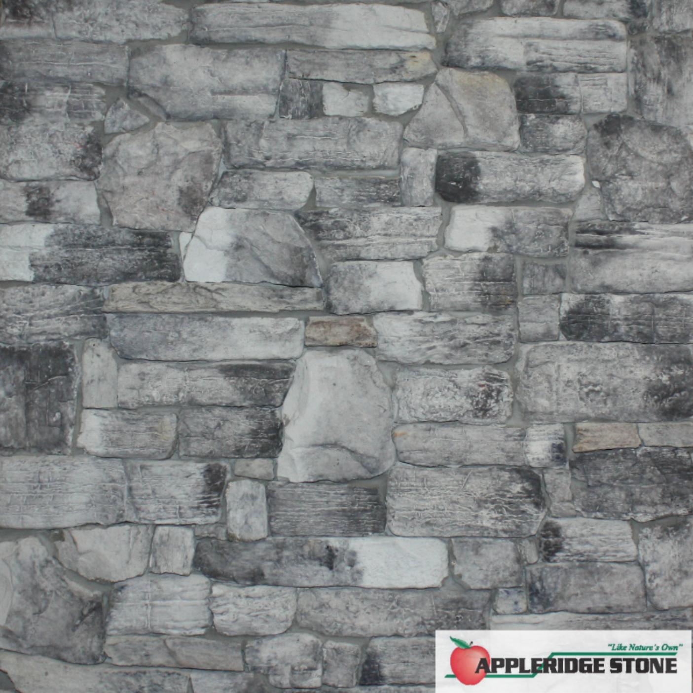 Appleridge Stone Stone Veneer Ridgestone Drystack Ridgestone Without A Mortar Joint Largest Stone 5 76 X 16 5 Smallest Stone Pattern Stone Mosaic Stone