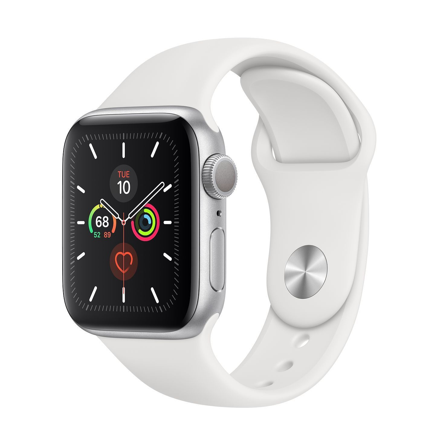 Silver Aluminum Case with Sport Band Apple We are