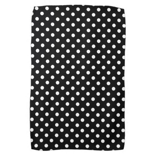 Black White Polka Dot Kitchen Towels Zazzle Com Kitchen Towels Polka Dots Black White