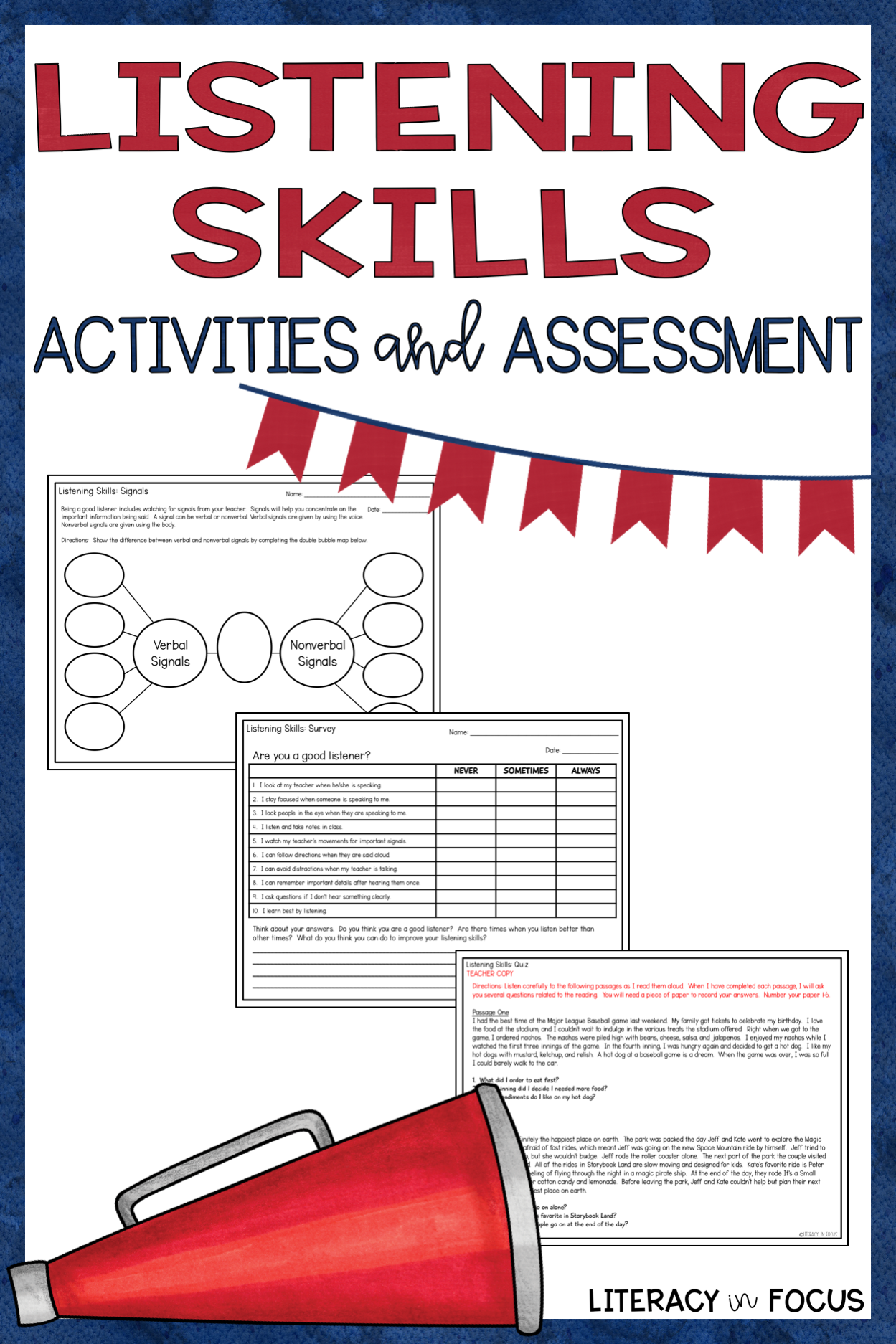 Listening Skills Worksheets