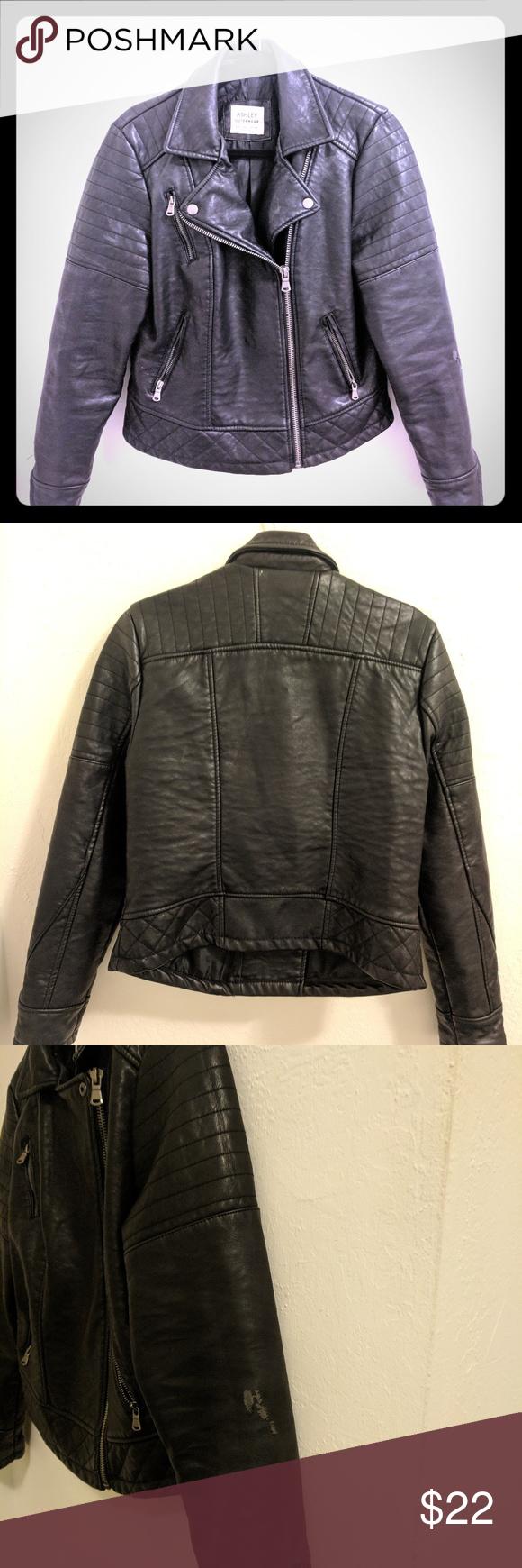 Ashley Outerwear Vegan Leather Jacket Ashley By 26 International Jackets Coats Vegan Leather Jacket Leather Jacket Vegan Leather Moto Jacket [ 1740 x 580 Pixel ]