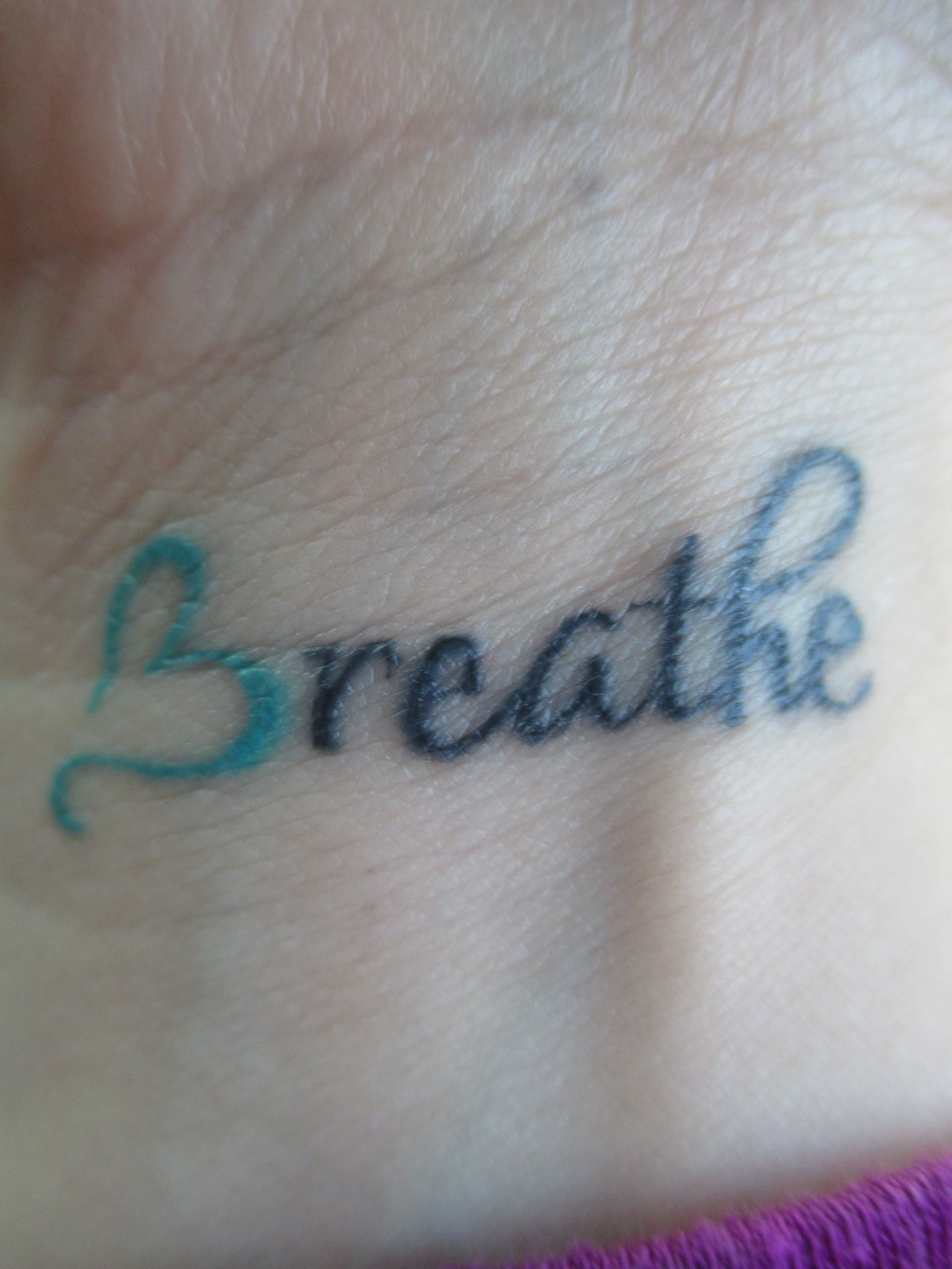 Tattoo i got for my husband ory who battles cystic fibrosis he is