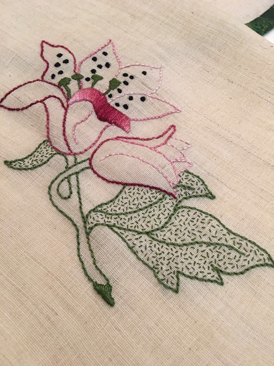 Pin by gouri joshi on embroidery stitches floral stitches embroidery stitches embroidery patterns simple designs jacobean needlepoint motifs garden embroidered flowers stitching bankloansurffo Images
