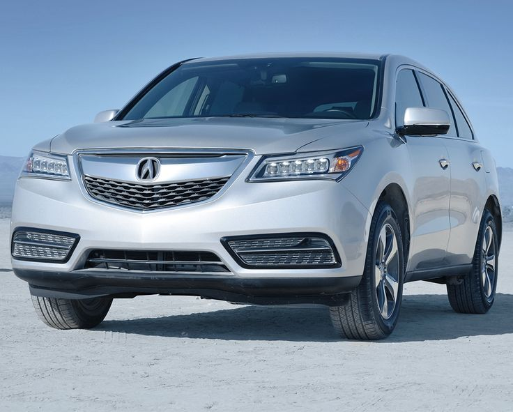 2015 Acura Mdx Silver Suv Exterior Front View Grill And Headlights Acura Acura Mdx Acura Cars