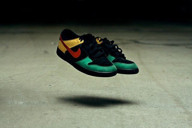 new styles aff68 3167d Nike Dunk Low – Rasta (by Julian Michael) sneakers