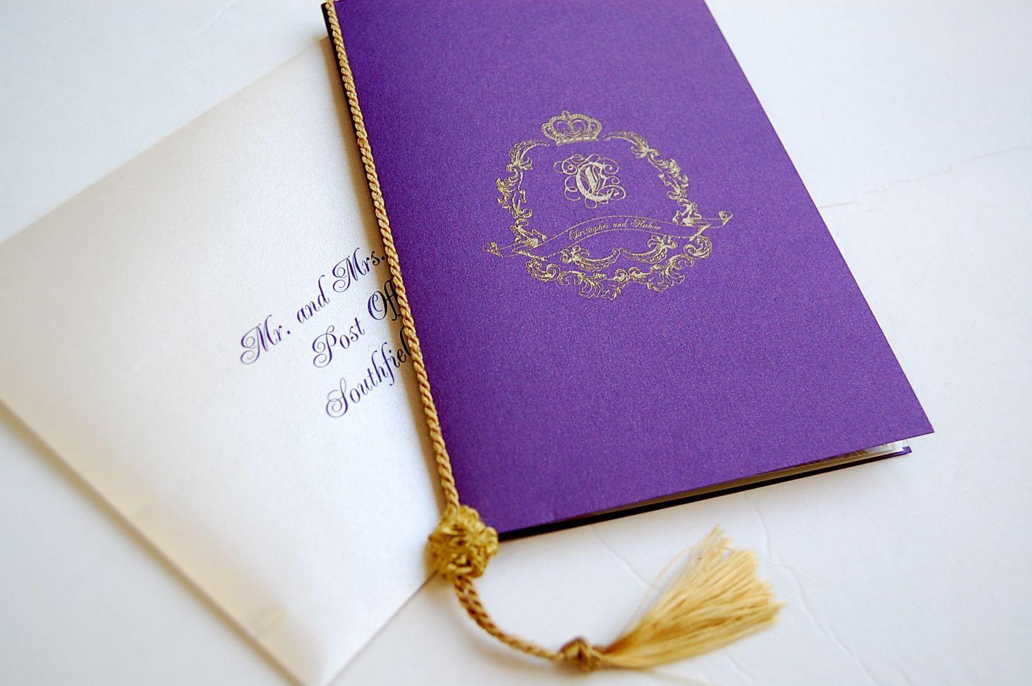 1000 images about Wedding LogoCrest – Royal Wedding Invitation Cards