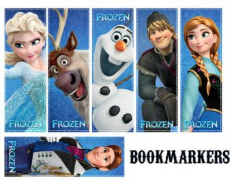 Frozen Coloring Pages Pdf Download : Frozen bookmarks tag for school bookmarks frozen