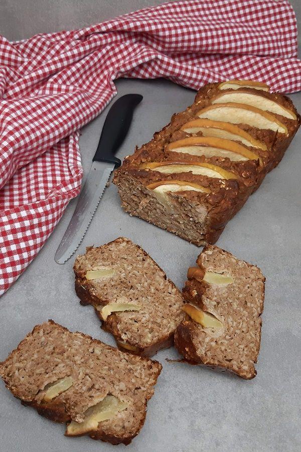 Apfel-Zimt-Brot nach Sophia Thiel Kochbuch Fitness Sweets -  So lecker ist das Apfel-Zimt-Brot von S...
