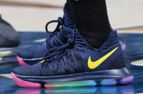info for 6b8b9 250bb The Nike KD 10 Be True Made Its Way Onto The Hardwood