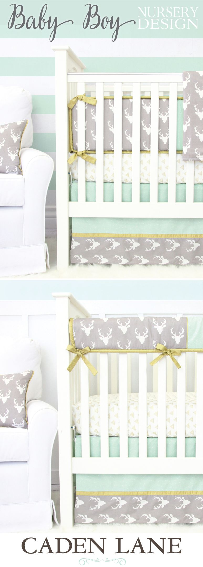 Crib Bedding Baby Boy Rooms: The Top Boy Nursery Design Trend