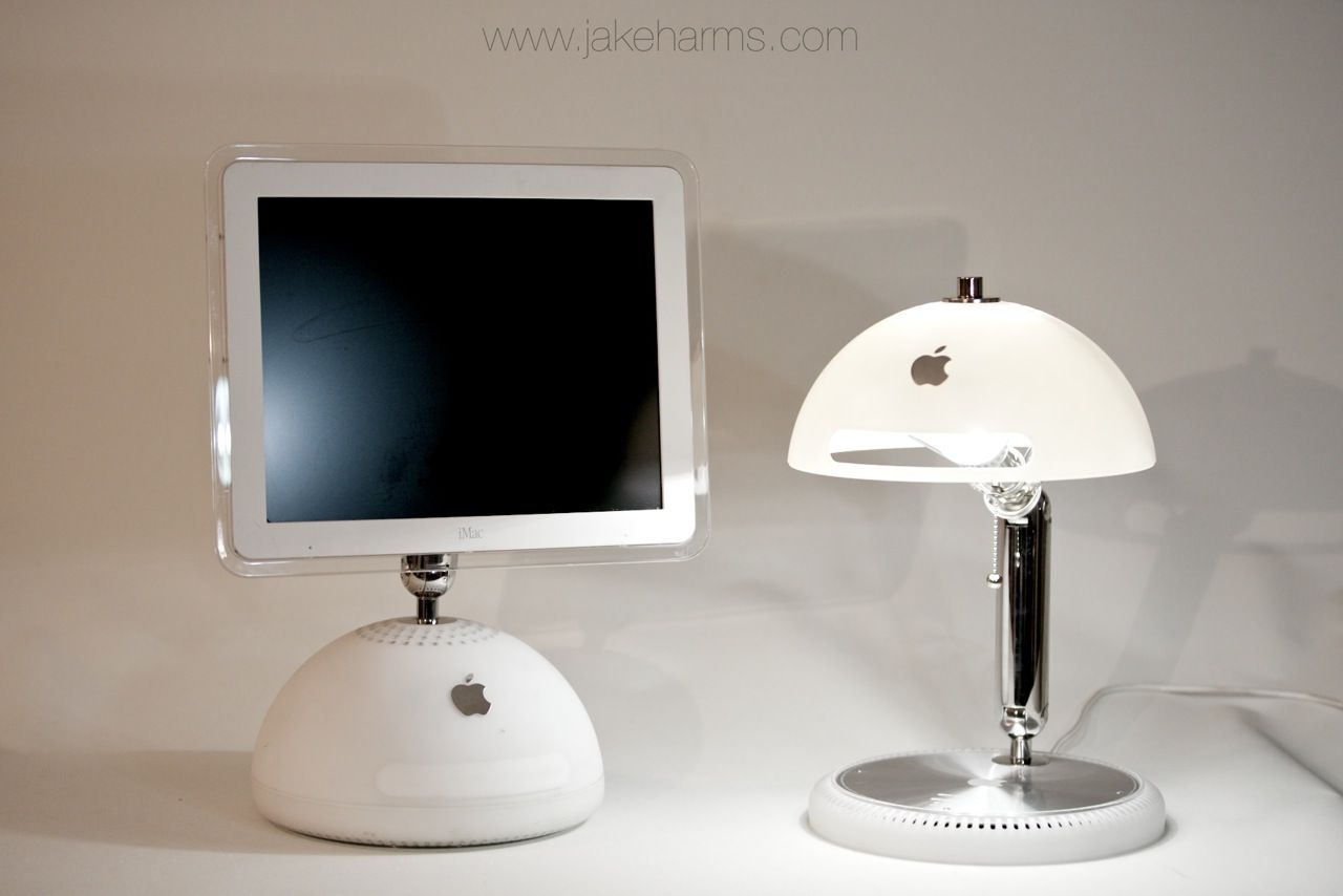 I Make Ilamps Out Of Old Apple G4 Imacs It Features An