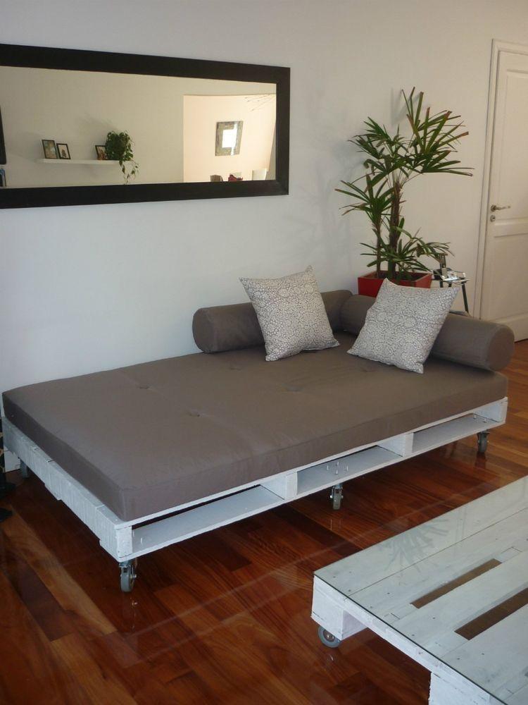 Lit du0027appoint For the Home Pinterest Palets, Camas y Palés - camas con tarimas