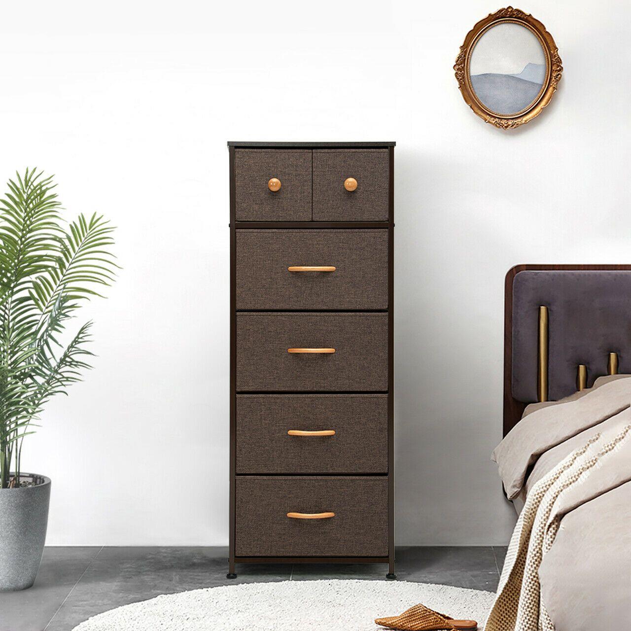 Dresser Bedside Drawers Furniture Storage Tower Organizer Unit Bedroom Office Us Ebay In 2020 Dresser Storage Storage Furniture Drawers