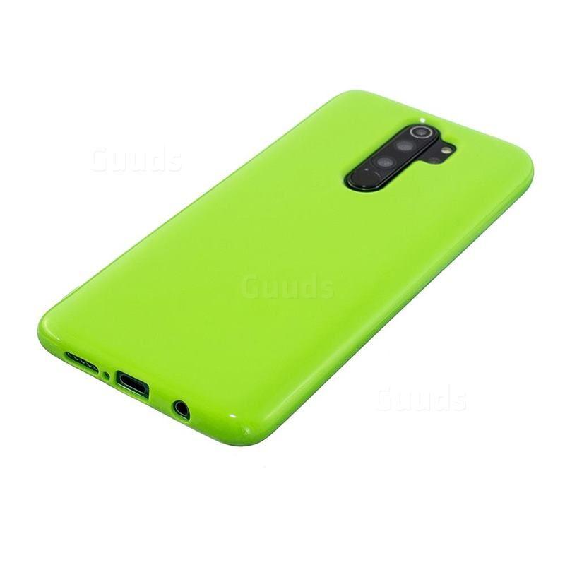 2mm Candy Soft Silicone Phone Case Cover For Mi Xiaomi Redmi Note 8 Pro Bright Green Xiaomi Redmi Note 8 Pro Cases Guuds Silicone Phone Case Phone Cases Protective Phone Case Cover