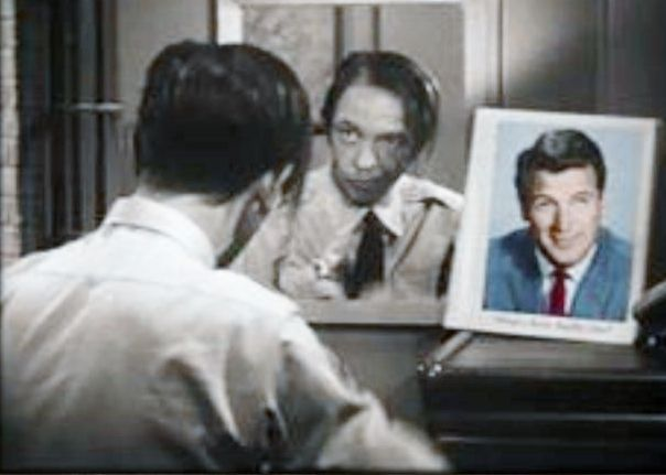 Yup, Barney Fife, you've almost got your hair styled just like Rock Hudson ~ Don Knotts, Andy Griffith Show