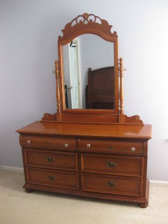 Lexington victoriana double dresser mirror coordinates - Lexington victorian bedroom furniture ...