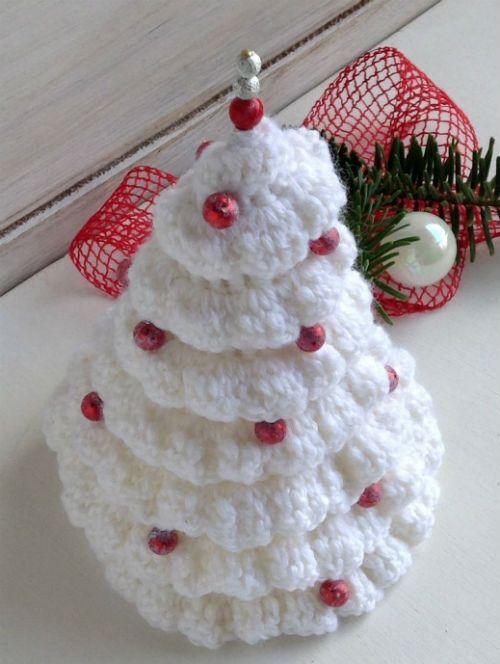 Abeto de Navidad a crochet DIY | Crochet y Dos Agujas | Pinterest ...