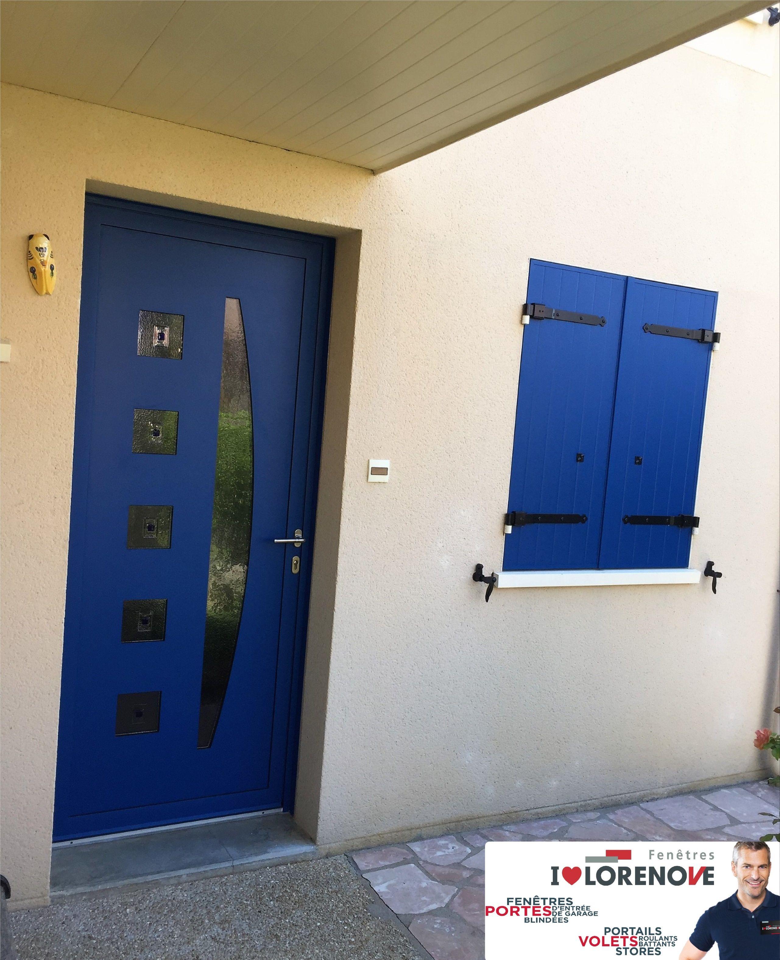 Realisation Porte D Entree Lorenove Modele Decor 2 Et Volets Battants Thiebault Isole Modele Barr Armoire Rangement Porte Placard Porte Placard Persienne