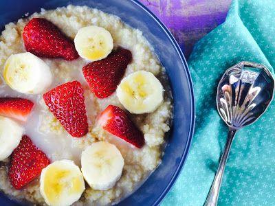 Monash University Low FODMAP Diet: Tropical Low FODMAP Millet Porridge Recipe. Link: http://fodmapmonash.blogspot.com/2015/12/tropical-low-fodmap-millet-porridge.html