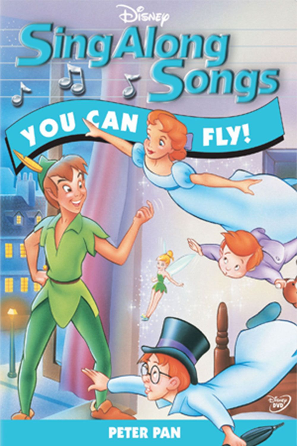 Image is loading Disney-Peter-Pan-You-Can-Fly-Song-Sheet-