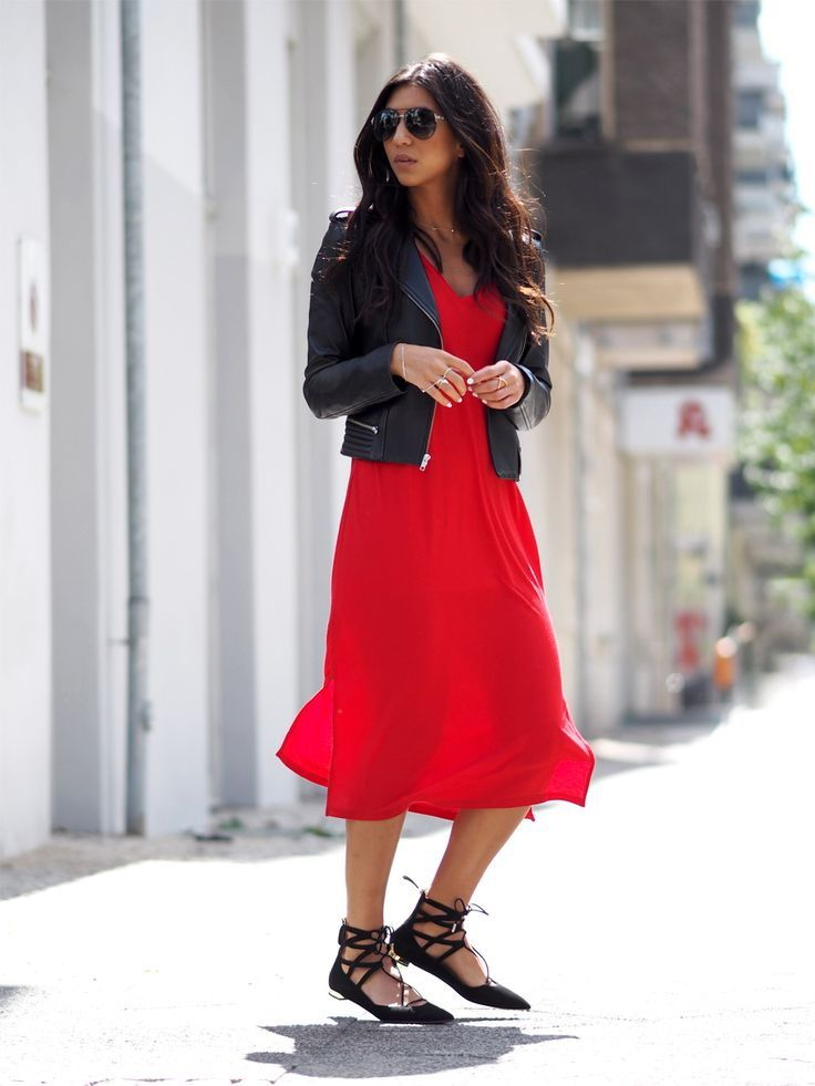24760ff54c39 How To Wear Dresses With Flat Shoes 2017