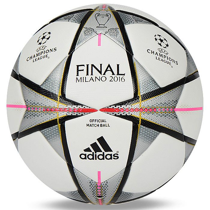 Delegation Periodic different  Adidas UEFA Finale Milano 2016 OMB Official Match Ball Soccer AC5487 Size 5  | Soccer, Champions league, Ball