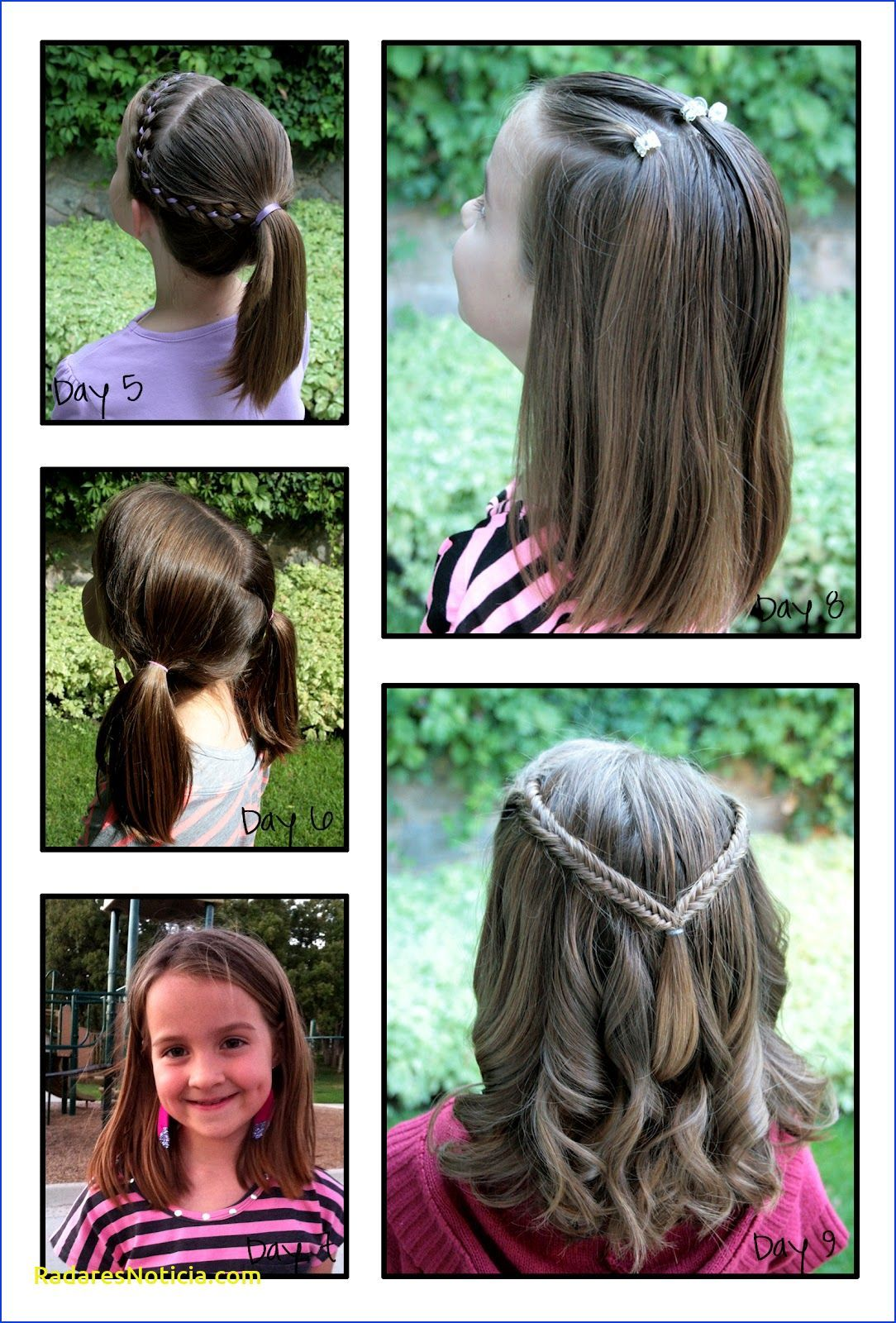 20 Gorgeous Hairstyles For 9 And 10 Year Old Girls Child Insider Fasteverydayhairstyles Everydayhairstyles V In 2020 Hair Styles Everyday Hairstyles Gorgeous Hair