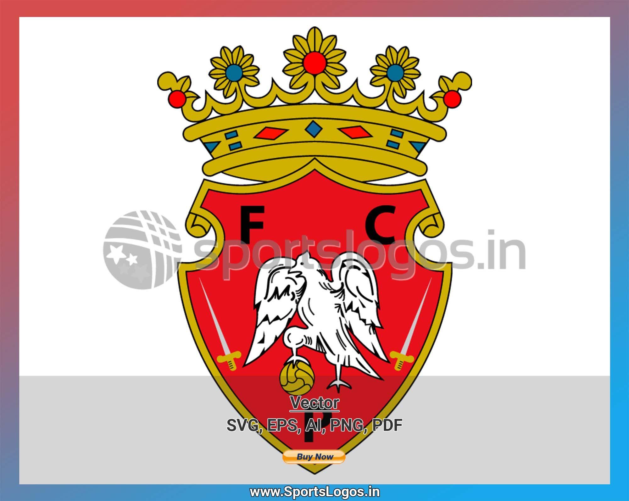 Penafiel - 2000, Portuguese Primeira Liga, Soccer Sports Vector/SVG/Cricut Logo - SPLN003329 ...