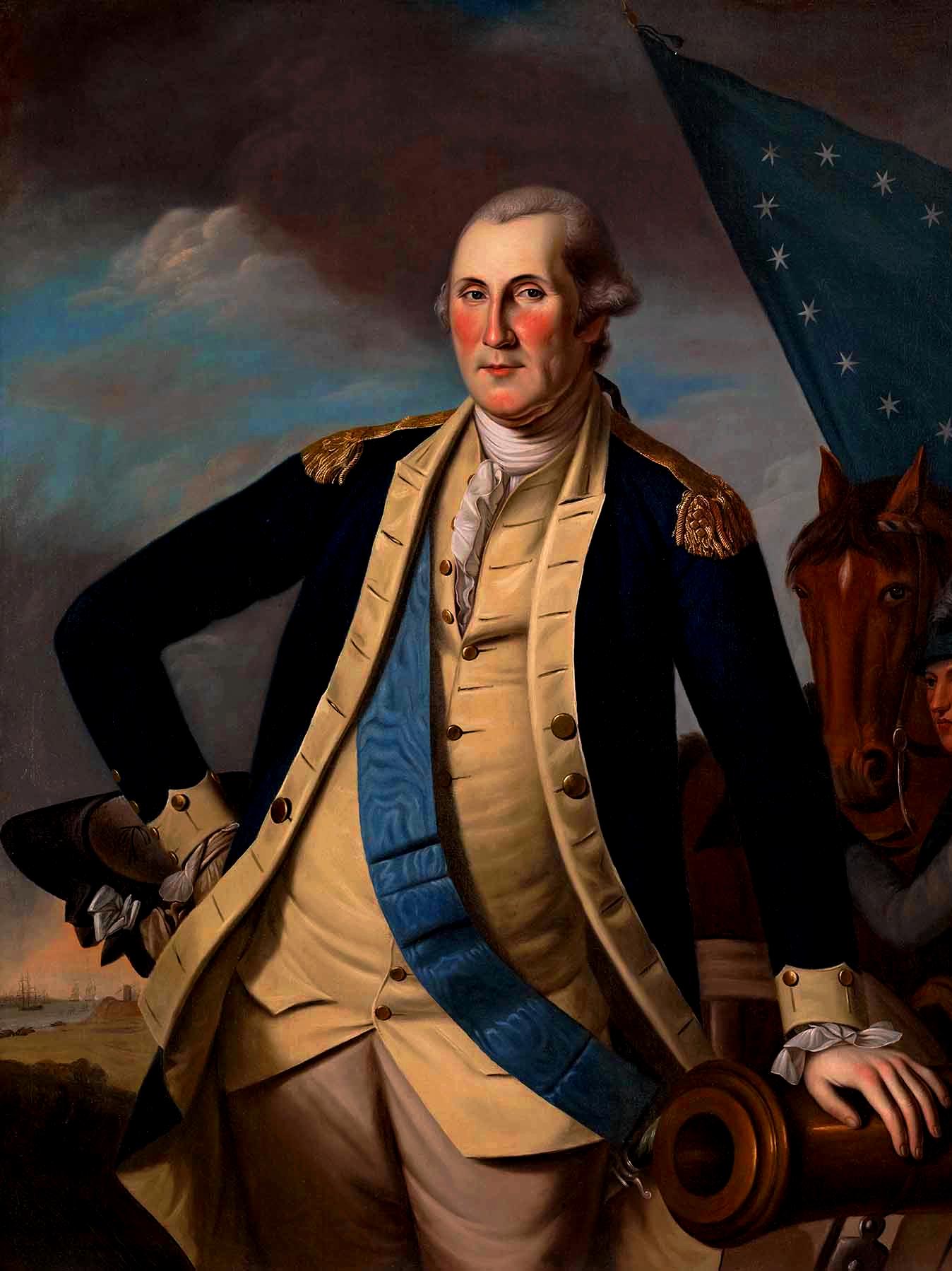 George Washington American First President 24 Con
