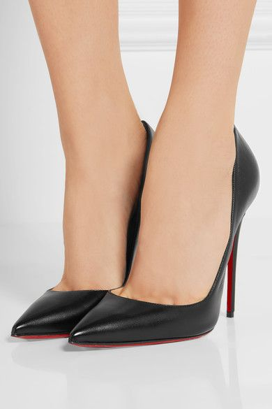 buy popular 68ad4 293de Christian Louboutin - So Kate 120 leather pumps | Shoes ...