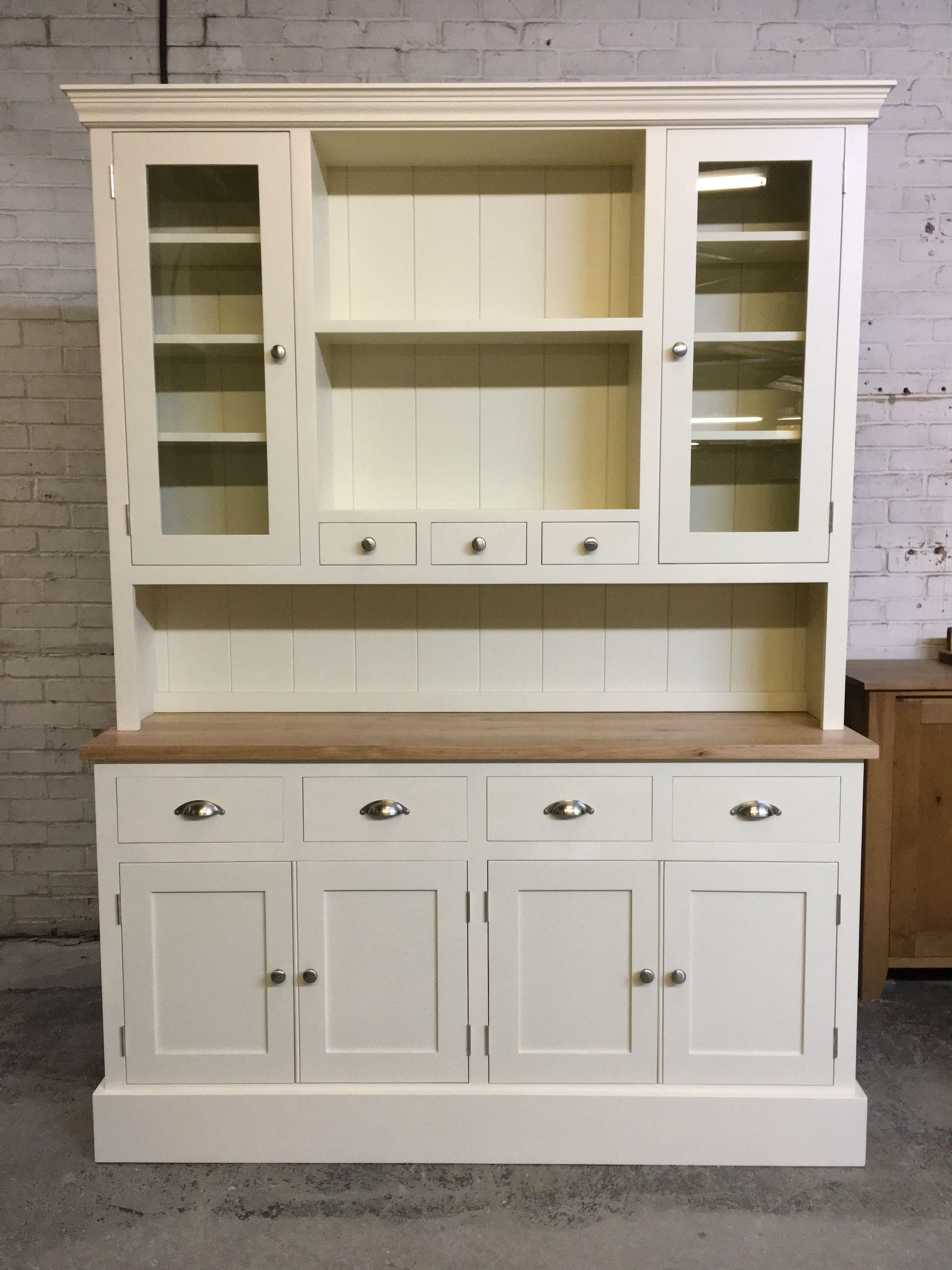 This Glazed Spice Dresser Was Painted F B Wimbourne White Www Cobwebsfurniture Co Uk Kitchen Kitchen Cabinets Interior Design