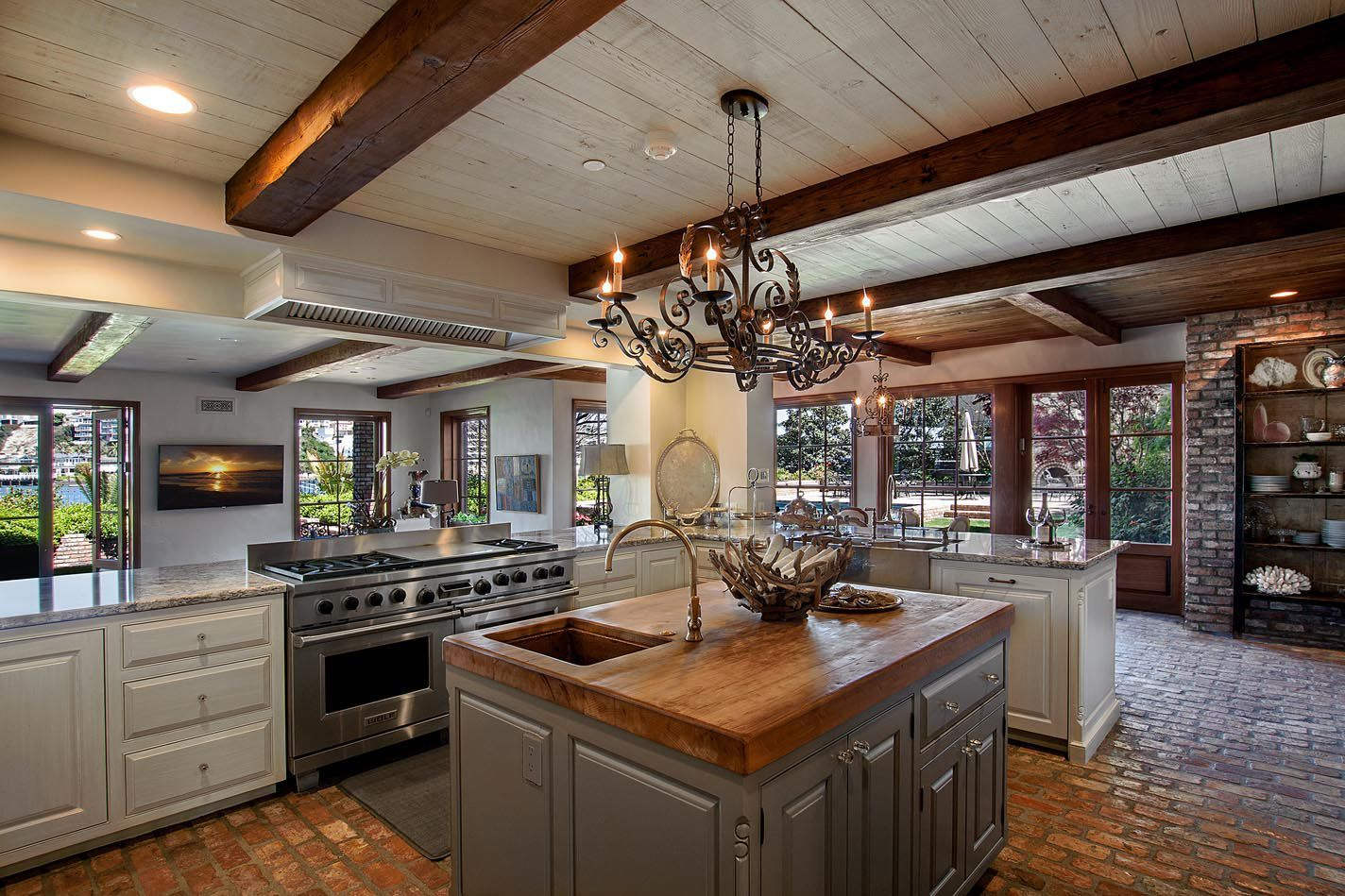 Beach House Kitchen - Rustic - Kitchen - Images by Beth ...