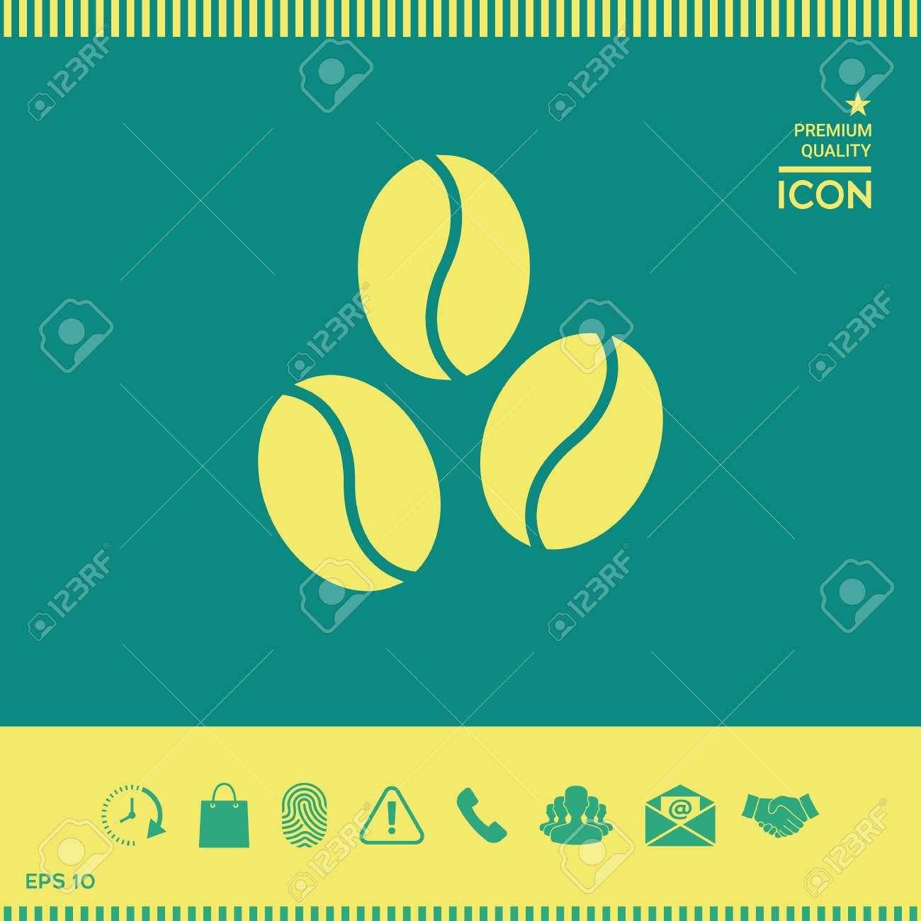 Coffee beans line icon , Ad, beans, Coffee, icon,
