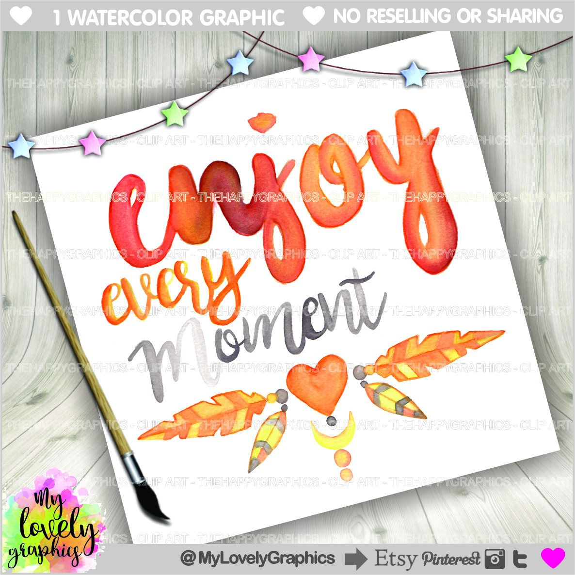 75 Off Quotes Enjoy Every Moment Commercial Use Watercolor Quotes Motivational Qu Enjoy Every Moment Quotes Motivational Quotes Inspirational Wall Quotes