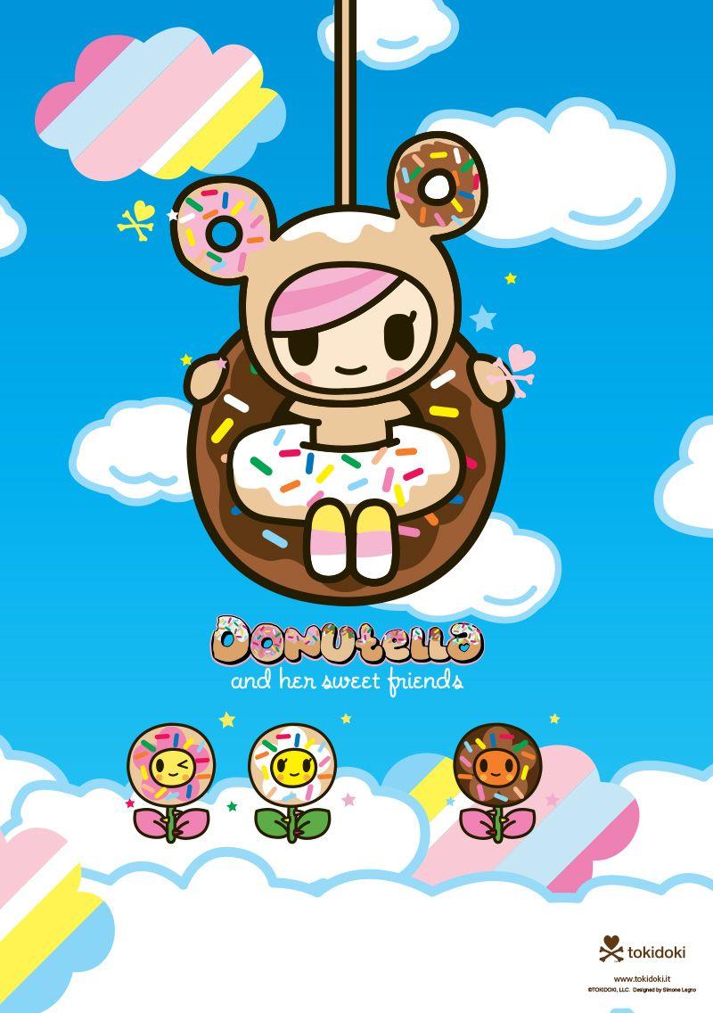 Donutella Is One Of My Very Favorite Tokidoki Characters Kawaii Doodles Tokidoki Characters Cute Wallpapers