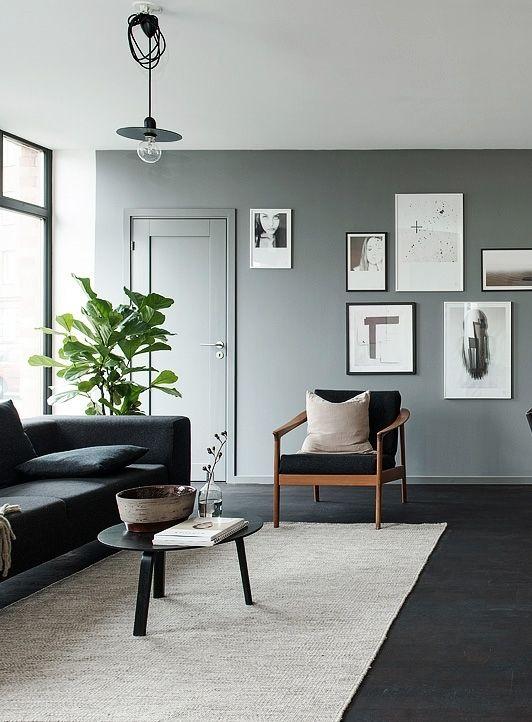 Inspiratieboost: een effen kleed in de woonkamer | Interiors, Living ...